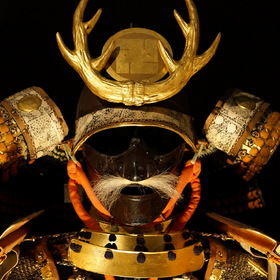 Samurai War Mask